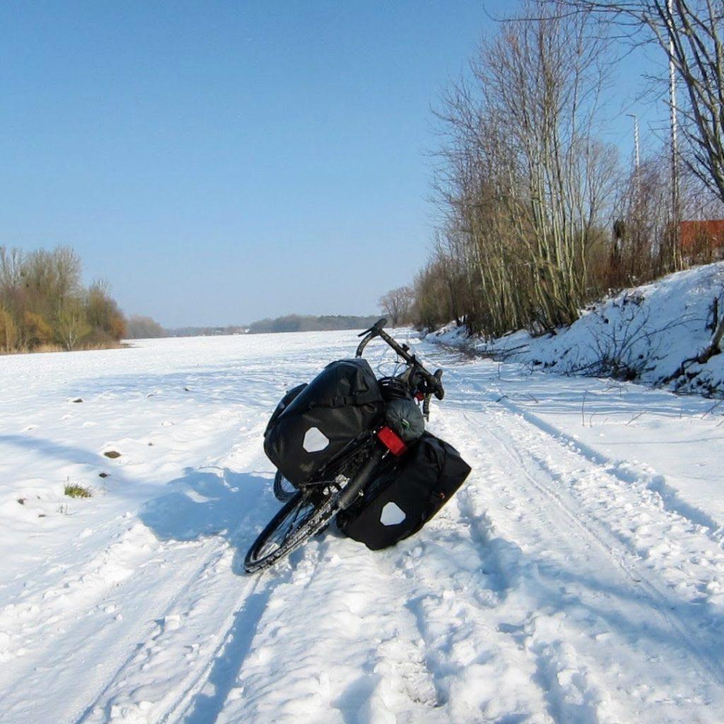 neige vélo