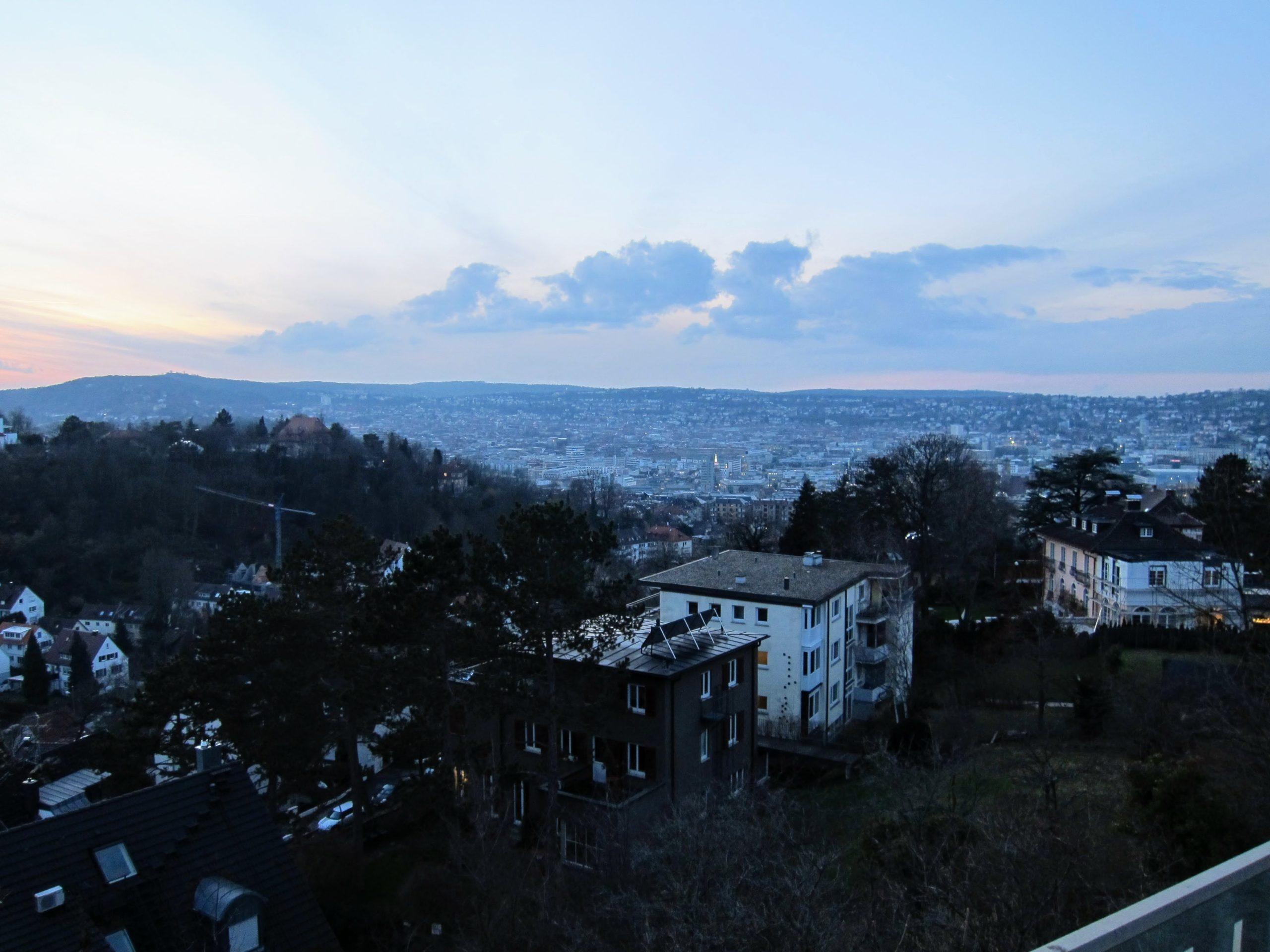 Stuttgart la nuit