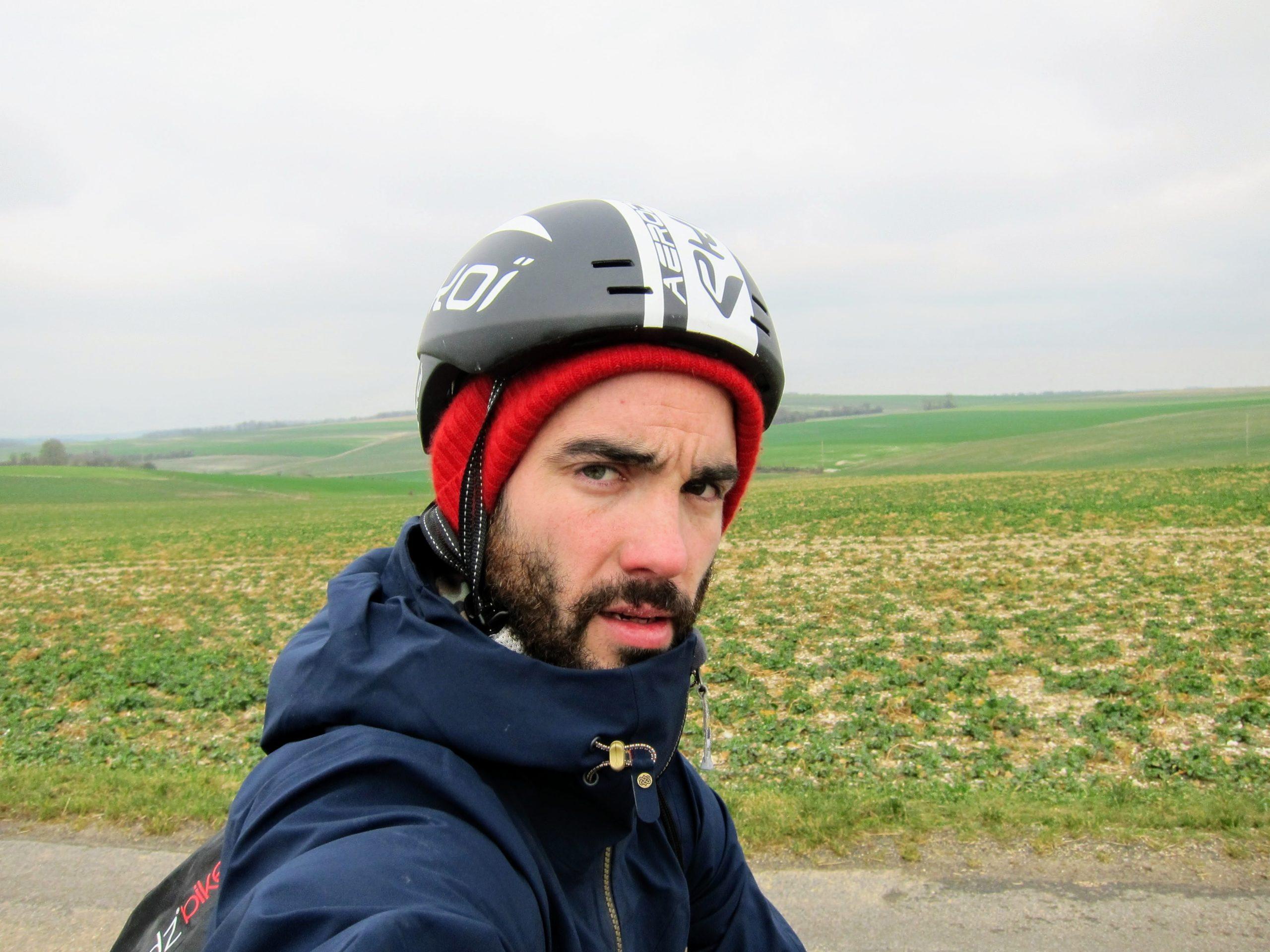 vélo vent défavorable