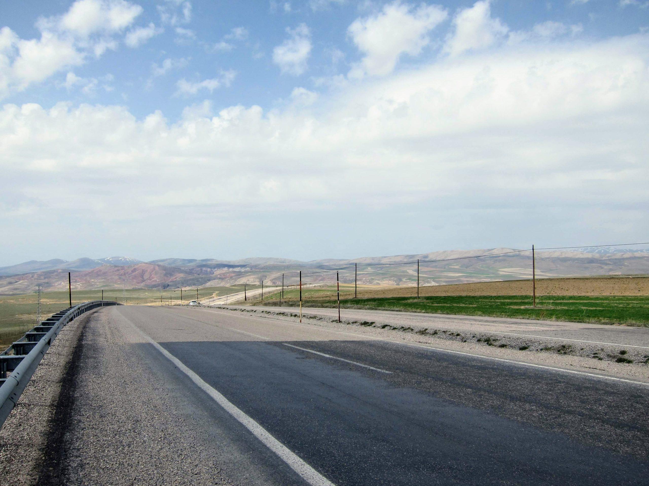 route vélo turquie