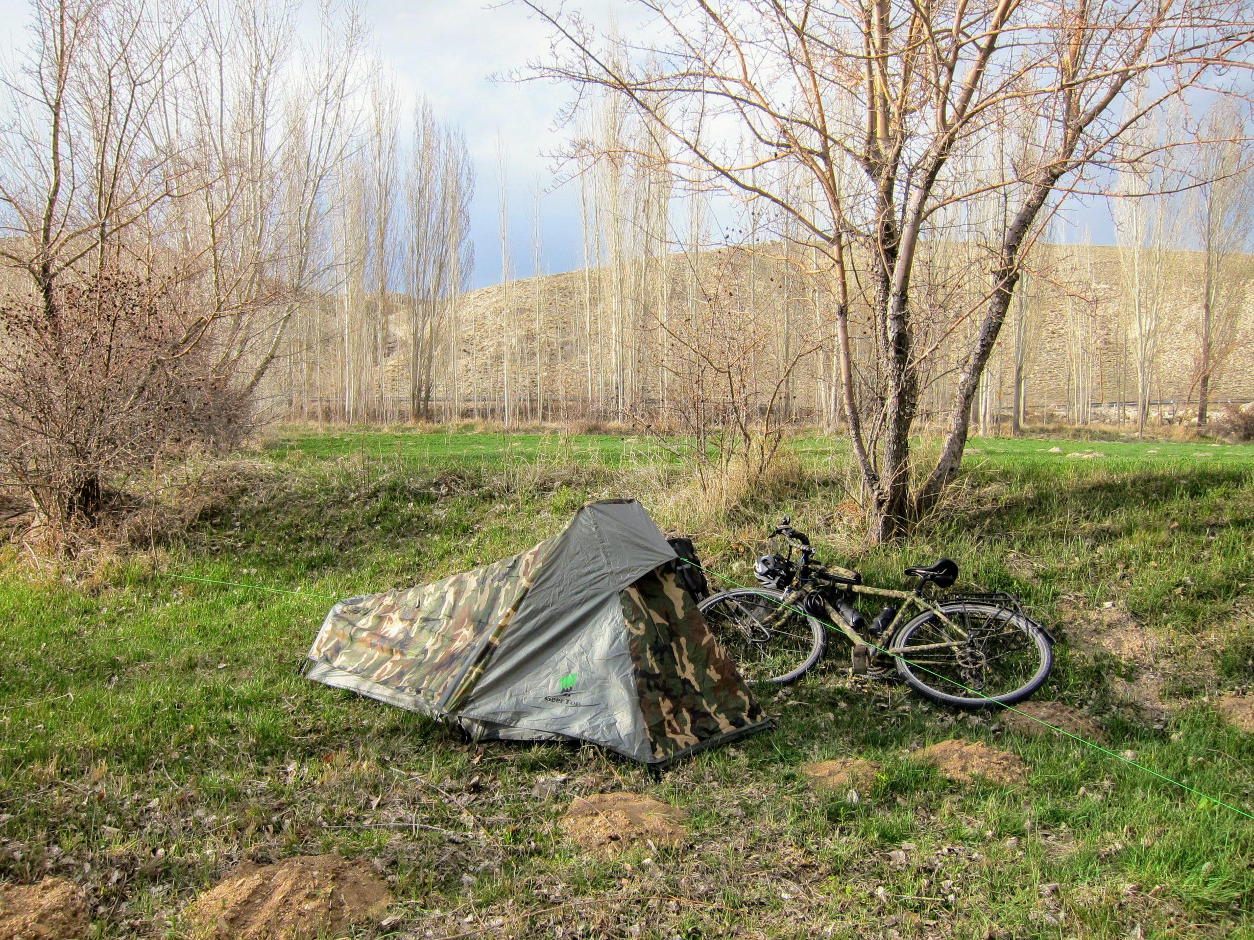 bivouac turquie camping