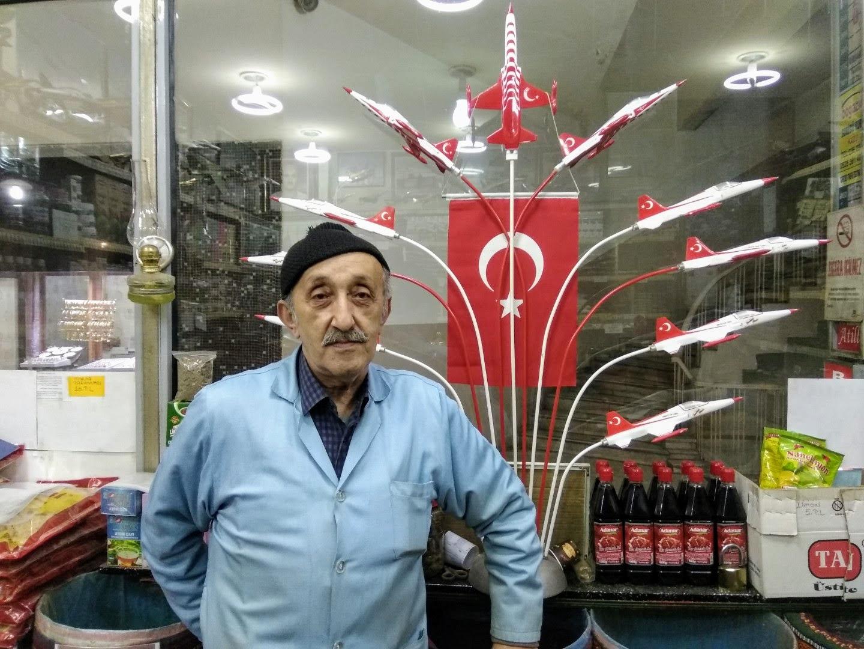 Commerçant turc