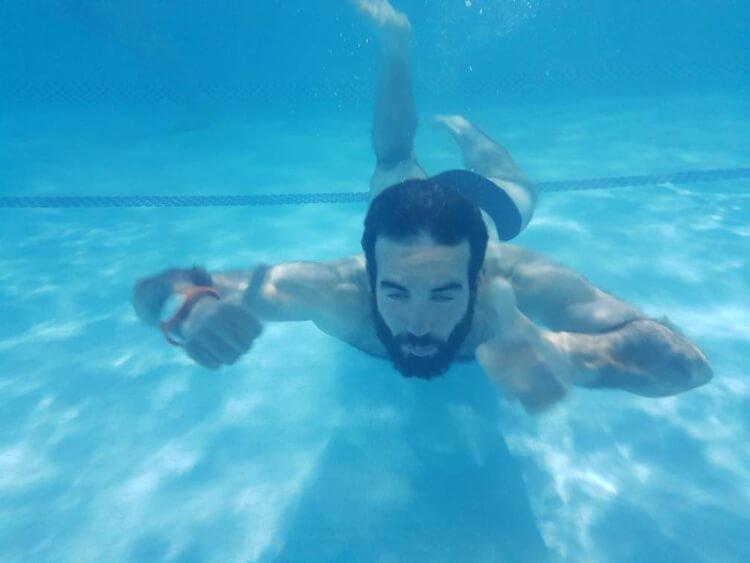 piscine publique Iran