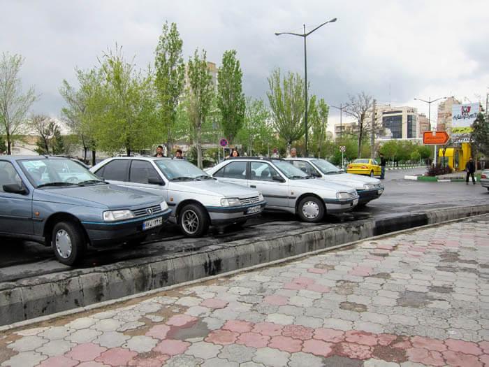 Peugeot 405 Iran