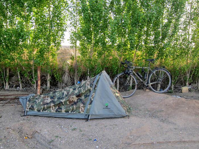 camping cyclotourisme iran