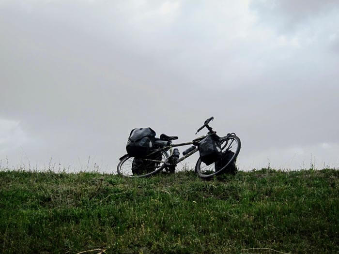 voyage à vélo iran