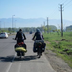 cyclotourisme iran