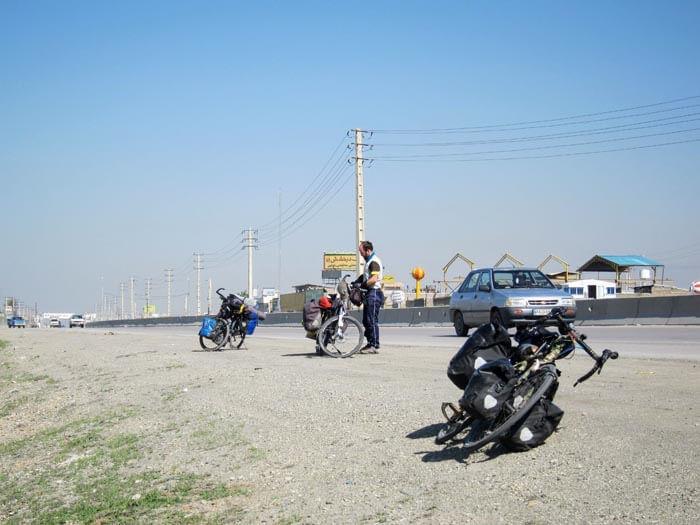 cyclotouriste Iran