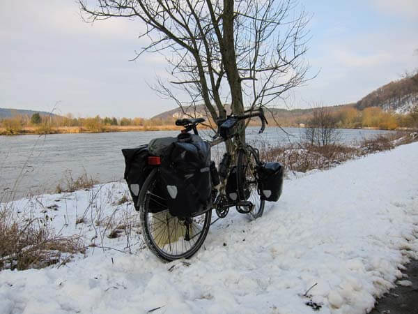 cyclotourisme hiver