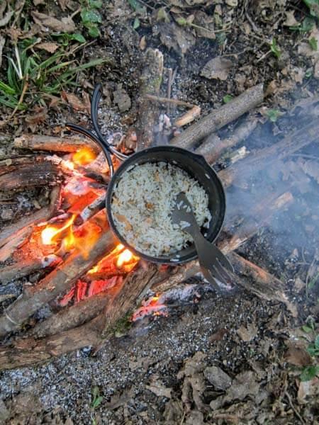 feu camping