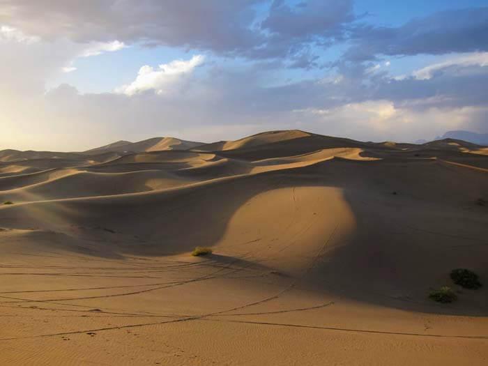 désert de dunes