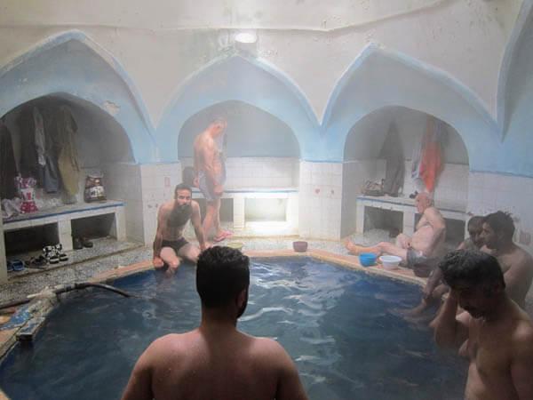 bain volcanique