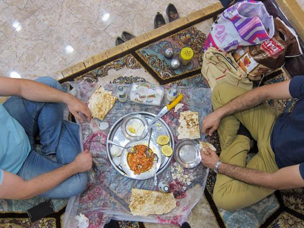 repas iranien