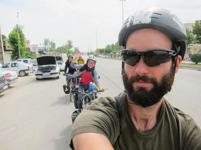 cyclotouristes iran