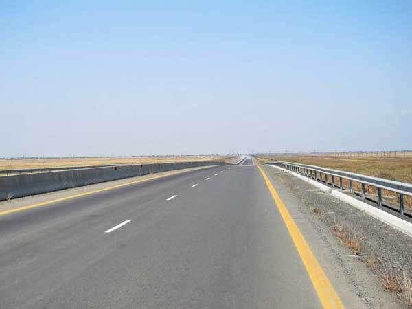 Autoroute desert