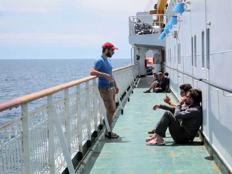 ferry mer caspienne