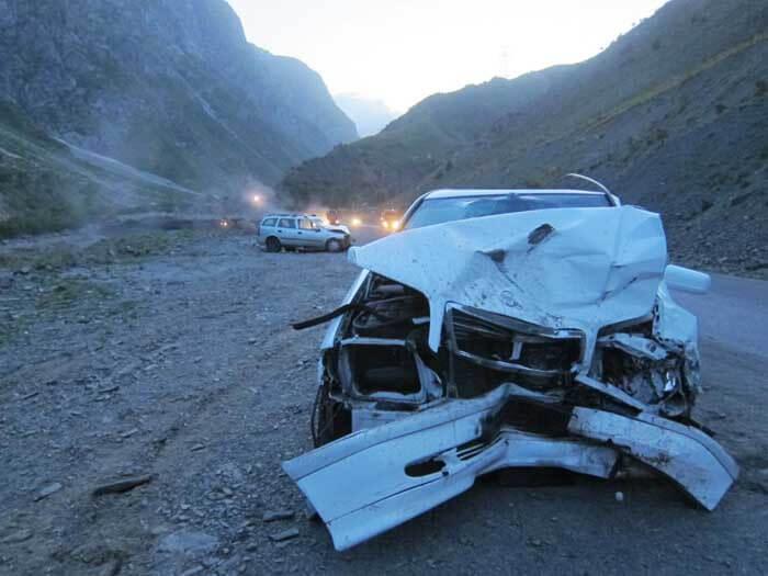 Accident tadjikistan