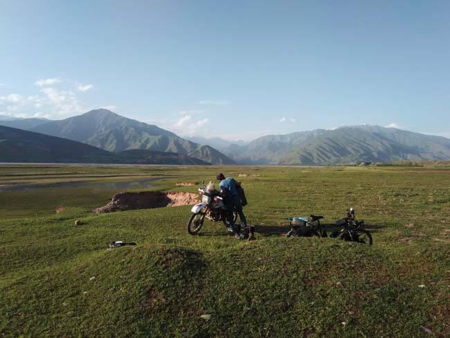 campement tadjikistan