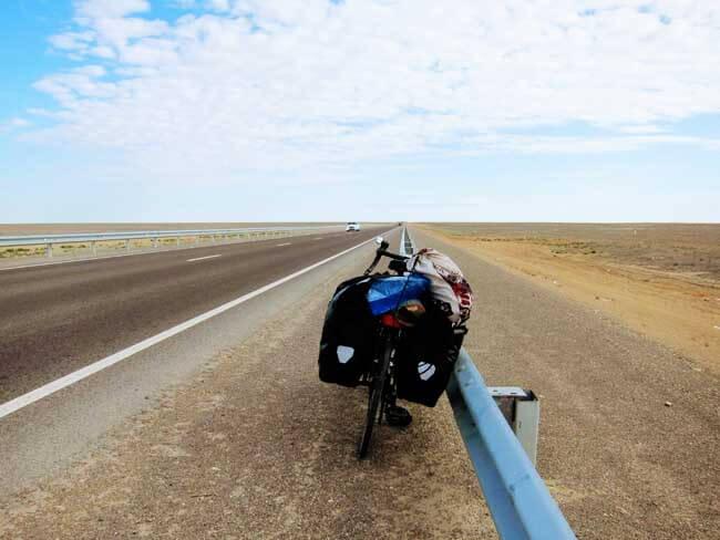 cyclotouriste kazakhstan