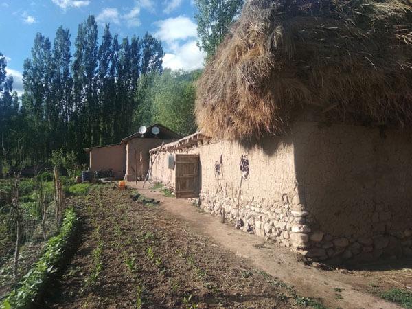 maison traditionnelle tadjikistan