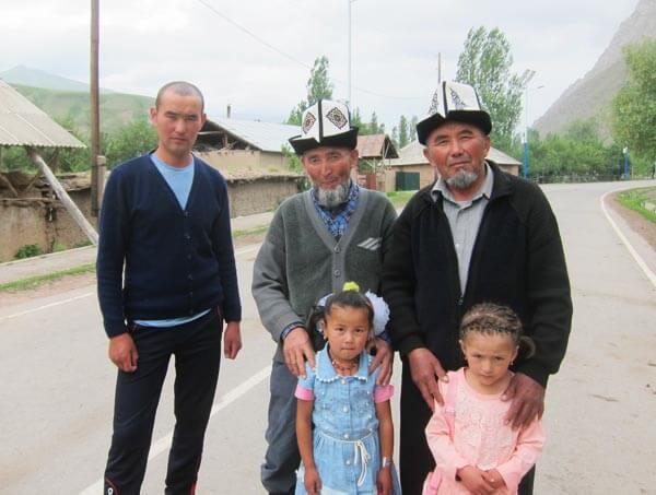 village tadjik