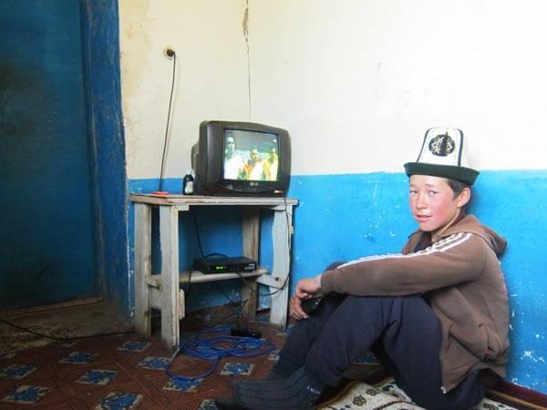 télévision asie centrale