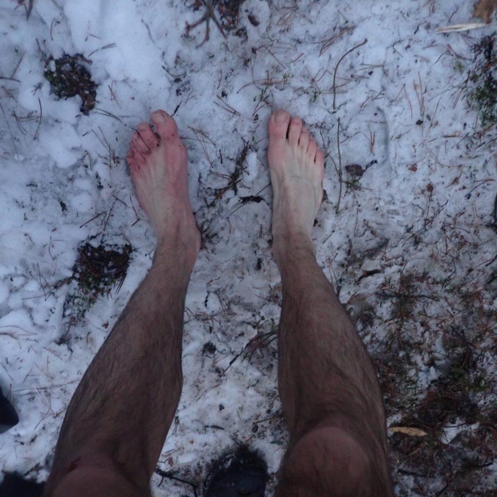 camping hiver