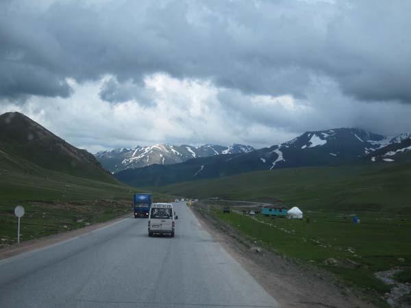 route bichkek