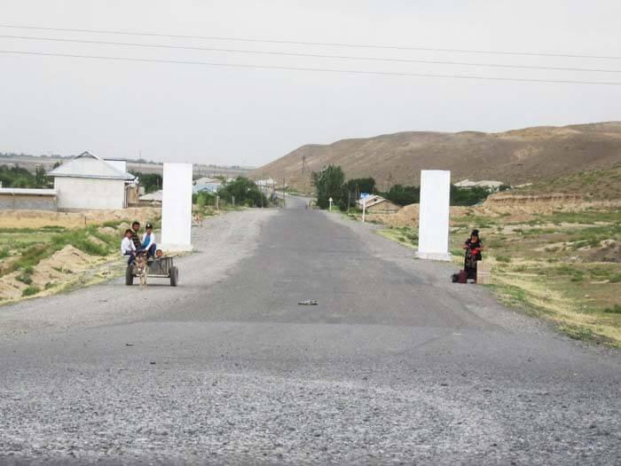route och kirghizistan