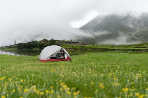 camping sauvage en nature bivouac