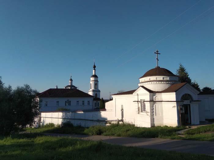 monastère à Maloyaroslavets en Russie