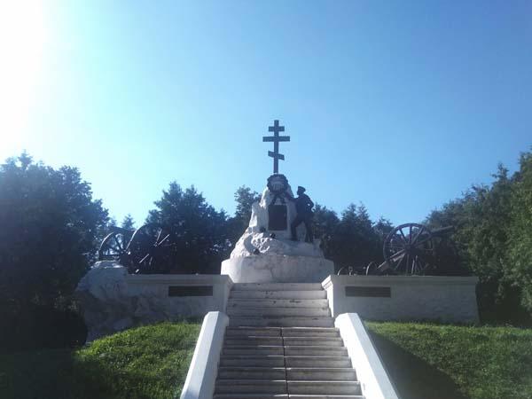 mémorial de guerre à Maloyarolavets