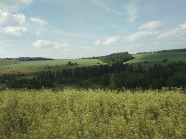 paysages transsibérien