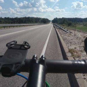route en forêt russe