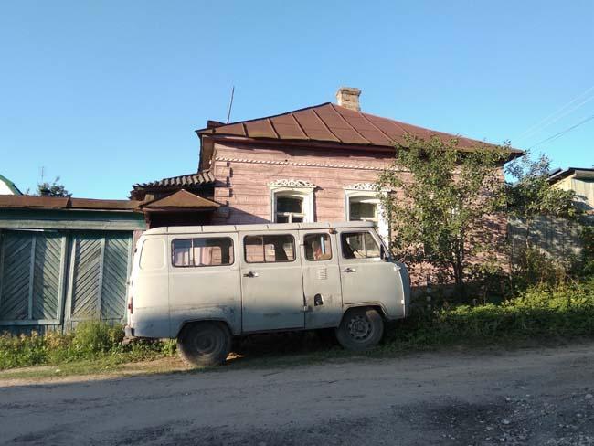 décor traditionnel en Russie