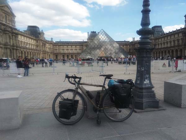 vol de vélo en ville