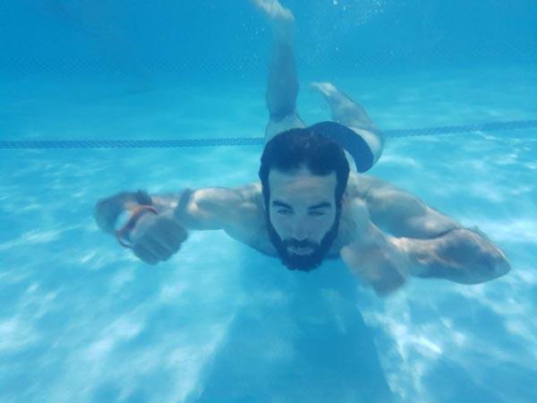 piscine publique en Iran