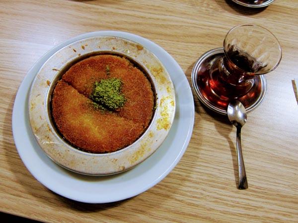 Dessert traditionnel turc