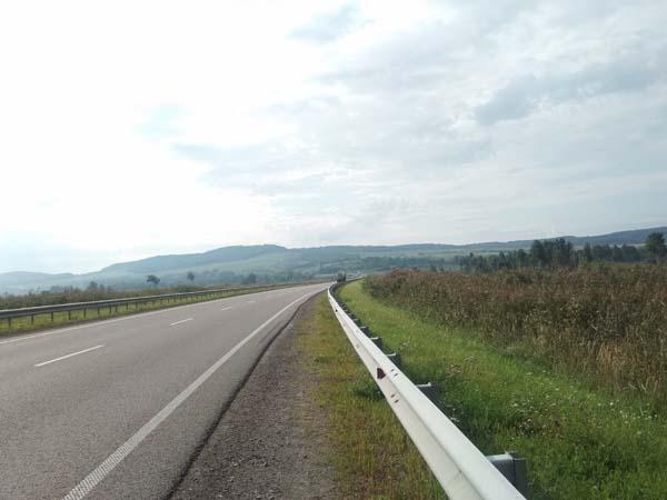 Lassitude sur la route en Ukraine