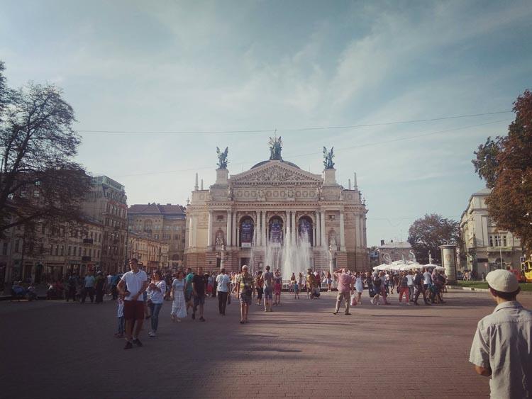 visite de Lviv en Ukraine