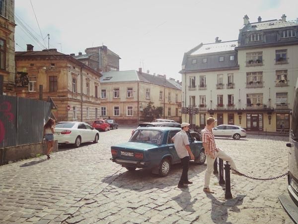 balade à Lviv en Ukraine