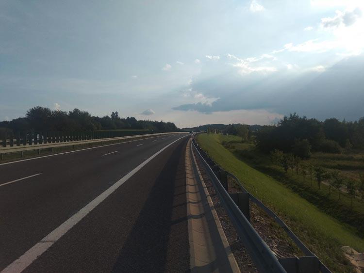 route schengen pologne