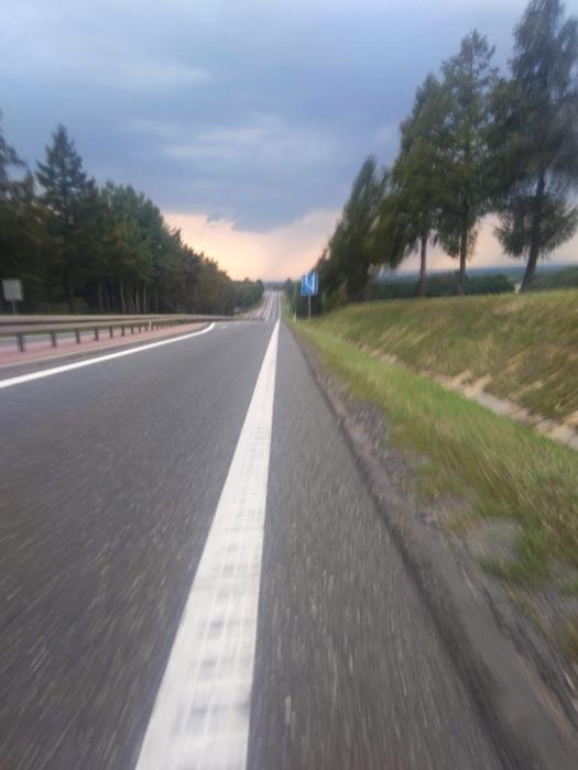 la roue en Pologne