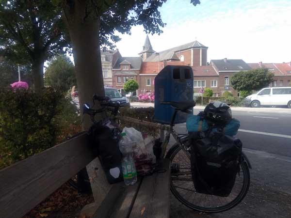 pause cyclotouriste belgique