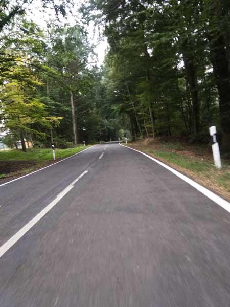 route asphalte allemagne